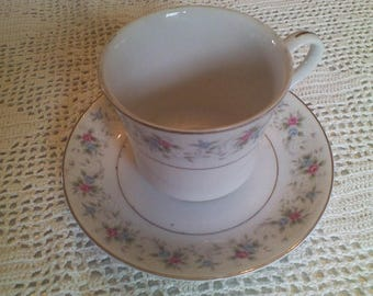 Corsage 3142 Set of 4 Cups and Saucers