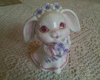 Lefton 1989 Rabbit Figurine