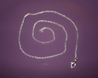 METAL CHAIN SILVER 45CM TO THREAD YOUR PENDANTS