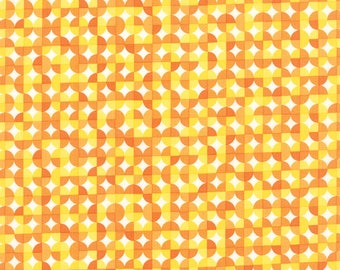 Moda ON THE WING Quilt Fabric 1/2 Yard By Abi Hall - Sunshine 35266 21