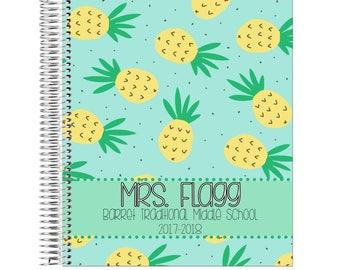 18-19 Teacher Planner     July 2018 - June 2019 Lesson Planner   Plan Book   Lessons   Record Book   Gift Spiral Calendar Agenda