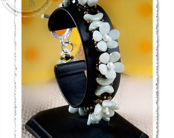 Calvinia beaded bracelet 3 PDF pattern