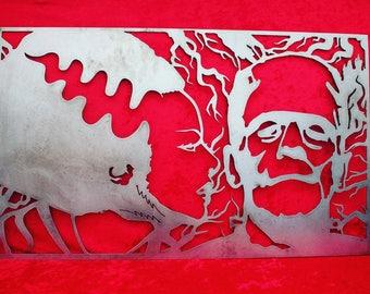 Frankenstein & Bride Wall Decor