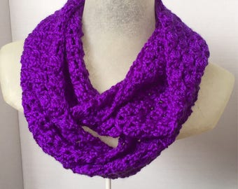 Infinity Scarf - Winter Scarf - Circle Scarf -Crochet Scarf - Handmade Scarf - Hipster Scarf - Double Loop Scarf - Long Infinity Scarf