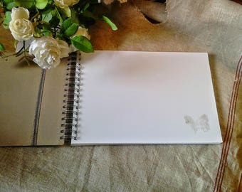 Additional pages for photo album or guestbook