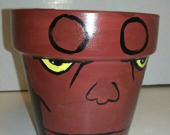 Hellboy Pot