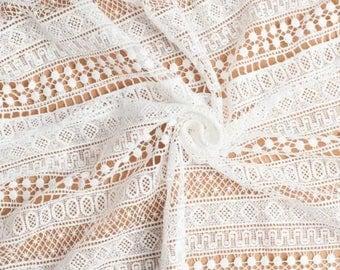 TheFabriqBoutique - Guipure Lace Graphic Lace Trending Lace Thid Season Wedding Lace Bridal Gown Lace