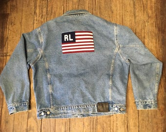 Ralph Lauren Polo Vintage Jean Jacket