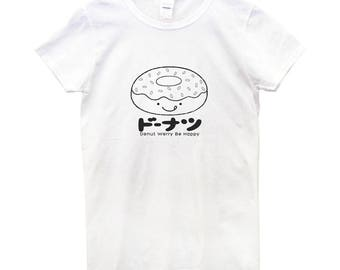 Donut T-Shirt, Women's Donut T-Shirt, Donut, Sweet, Food Tee