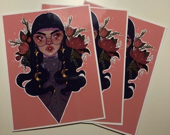 Bouquet Glossy Sticker
