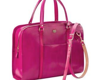 Briefcase BUSINESS TRAVELER magenta