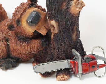 Power Saw/Chain Saw/Belt Buckle/Power Saw Belt Buckle/Chain Saw Buckle/Bergamot/Bergamot Brass Works/Power Saw Buckle/Gifts For Him/Saw/USA