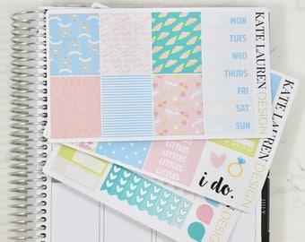 Wedding Planner Stickers Kit For The Erin Condren Life Vertical