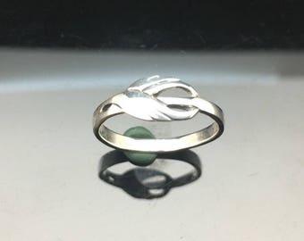 Girls Celtic Ring // 925 Sterling Silver // Hand Cast //  Silver Celtic Ring // Celtic Jewelry