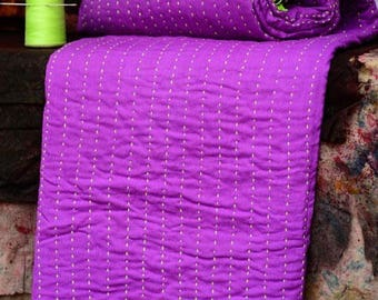Six Layer Mulmul Kantha Quilts Throws