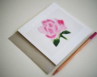 Richmond Rose  Greeting Card