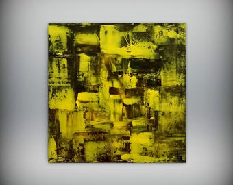 Abstract painting 30 x 30 painting