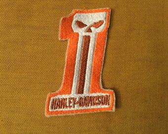 Harley Davidson Patch 3.75 inches sew on