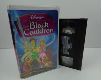 Disney Black Cauldron VHS