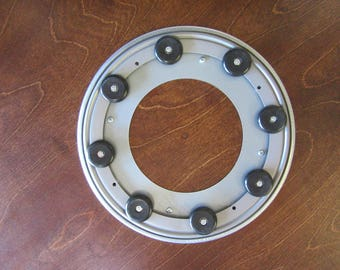 Heavy Duty Quiet Lazy Susan Bearing With Rubber Feet