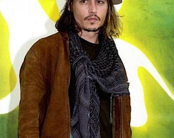 "Johnny Depp Casual Look  8 x 10"" Color  Photograph— More Celebrity Photos available Too"