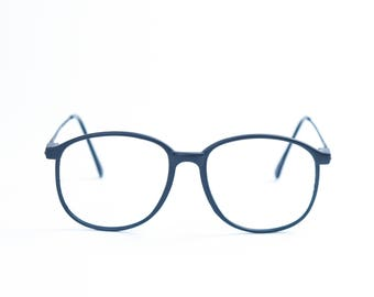 Clear Lens Optical Quality Vintage Librarian Glasses