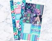 PRE-SALE! Neon Night Bitty Kit (Glam Planner Stickers for Erin Condren Life Planner)