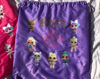 LOL Surprise Doll backpack