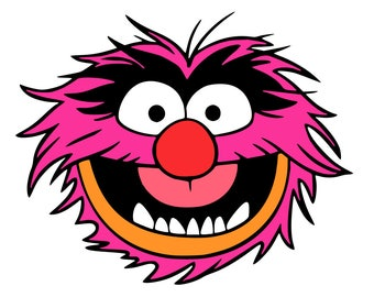 Animal and Drum - Muppets Musician - svg files
