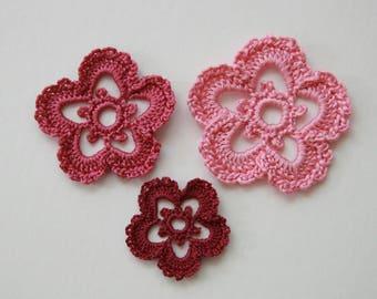 Set of 3 designs to crochet for customisation