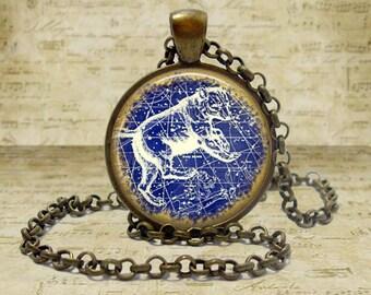 Ursa Major Necklace Constellation Necklace Ursa Major Constellation jewelry The Big Dipper The Great Bear Constellation Keychain Gift