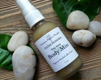 Organic Bug Spray, Botanical Bug Deterrent, Natural Insect Repellent, Natural Bug Spray, Mosquito Repellent, Tick Repellent, Insect Spray