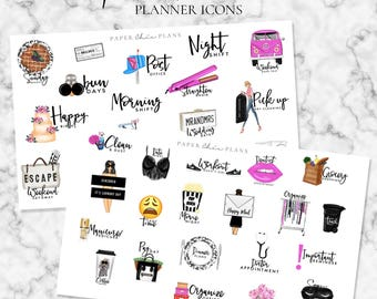 Functional Planner Stickers | MATTE