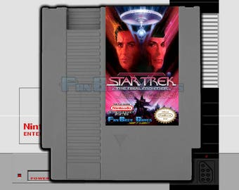 "SPECIAL ORDER! ""Star Trek V: The Final Frontier"" Unreleased Nintendo NES Action Game!"