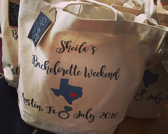 Bachelorette Tote Bags~Bridesmaid Bags~Tote Bags~Wedding Tote Bags~tote bag custom wedding~wedding bags~bridal party gifts~bridal