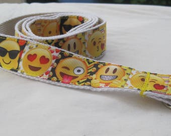 Childrens belt emoji adjustable for kids toddler boy girl handmade smiley face