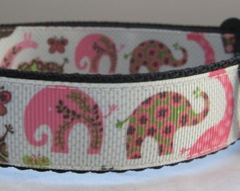 Elephant Dog collar  matching lead available giraffe cute grooming Animals