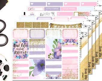 Live life Kit II Perfect For The Erin Condren Life Planner II