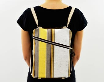 Backpack lines//strap//BeesBag//ipad case//smartphone/Pocket/Keychain//eco friendly gift design//made in Italy