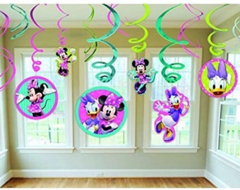 Minnie Mouse party hanging decoration