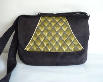 Hobo shoulder bag - handmade - OOAK