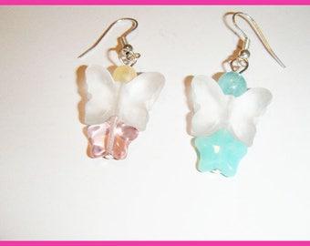 Butterfly earrings ♥ stars ♥