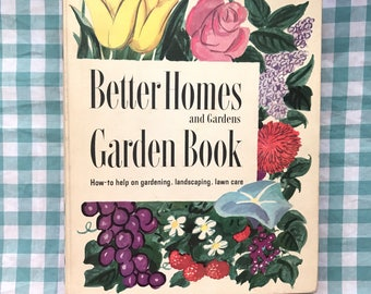 free domestic shipping--Better Homes and Gardens Garden Book 1961