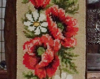 bell cord (antique) in tapestry and velvet lined