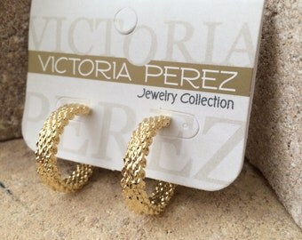 Hoop Earrings | 14K Gold Plated