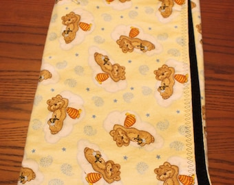 Honey Bears Double Sided Flannel Blanket