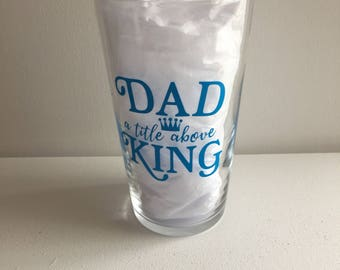 Fathers Day- Pint Glass -Present