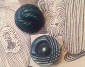 2  Celluloid Buttons. For...