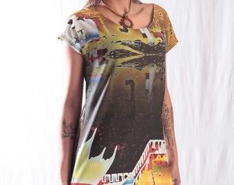 Donnafugata dress multicolor