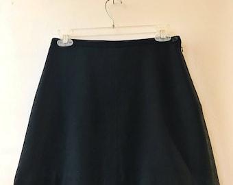 Vintage 90s A-line miniskirt